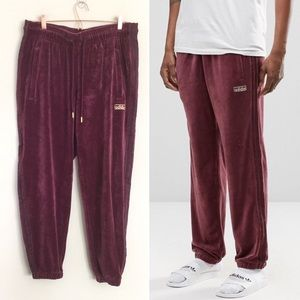 ADIDAS Originals Archive Velour Cuffed Joggers